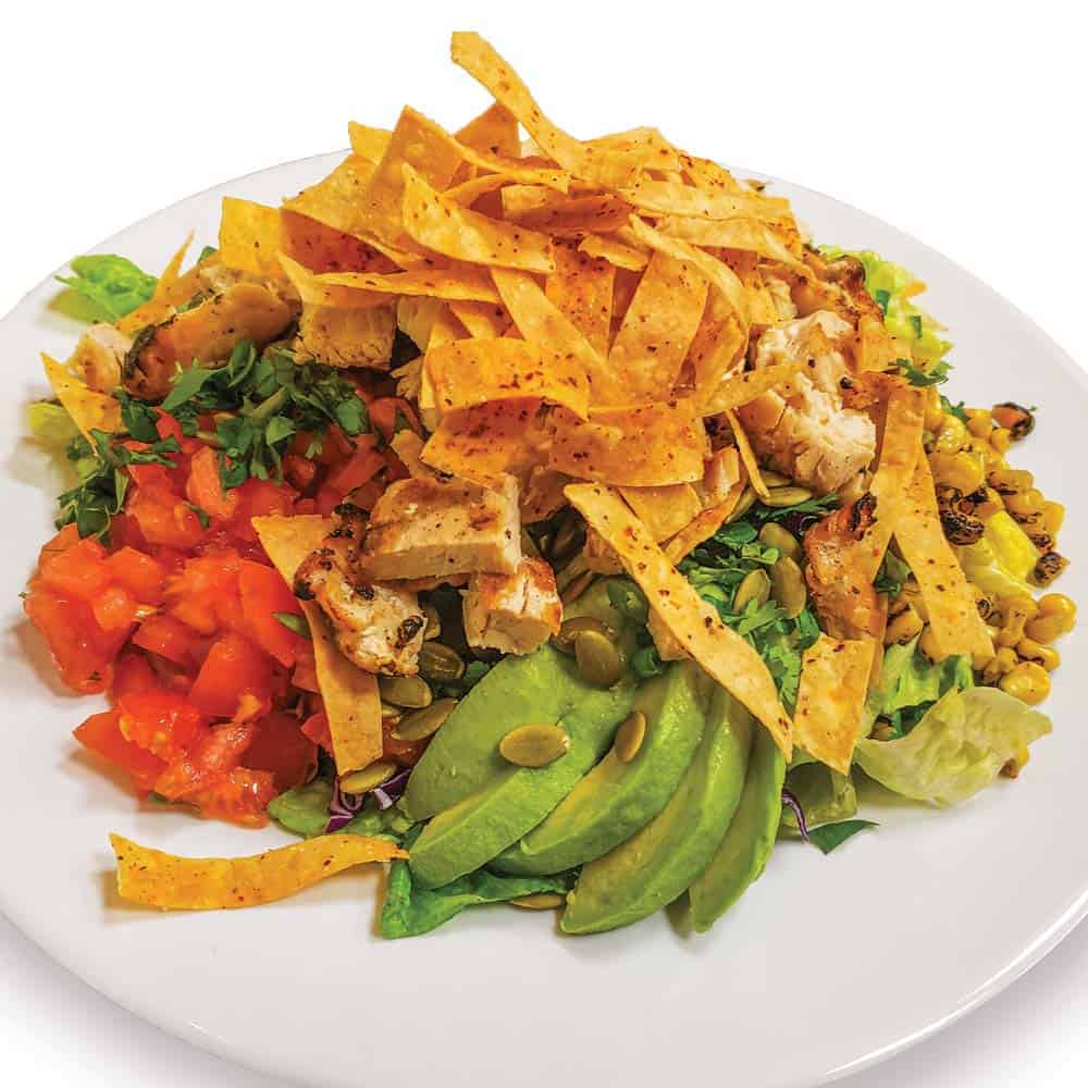 Sunset Chopped Chicken Salad