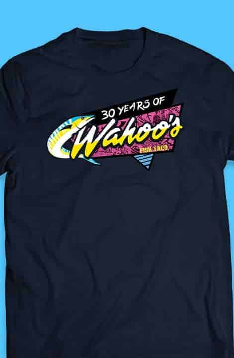 Wahoo's Lost tee