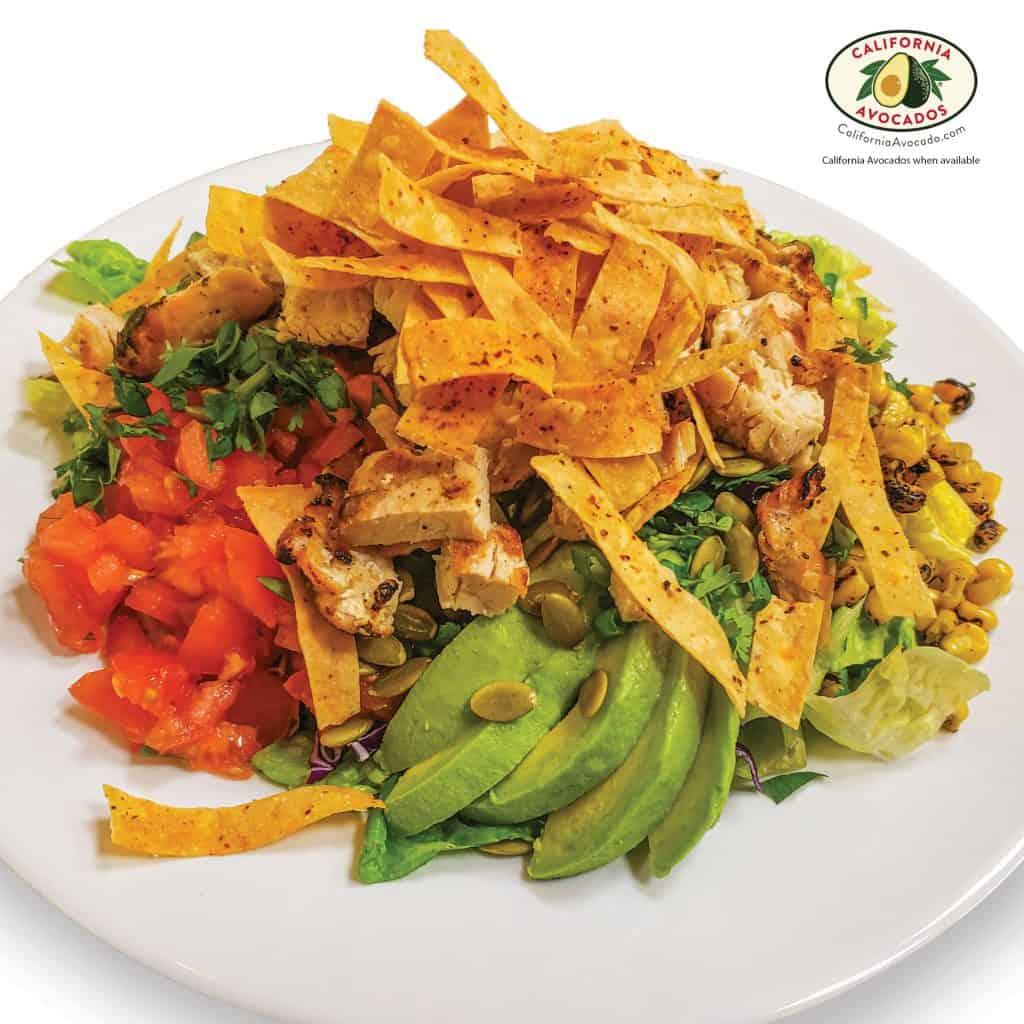 Sunset Chopped Chicken Salad