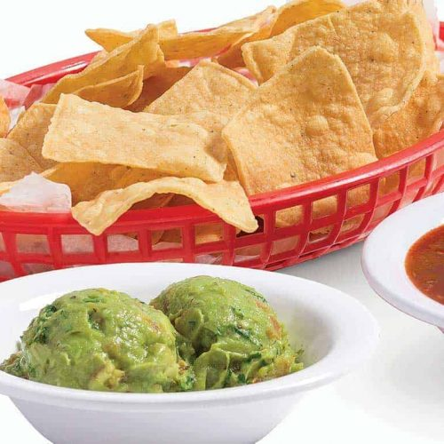 Chips with Salsa & Guac